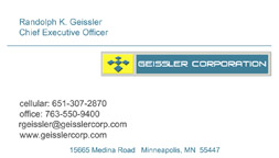 Geissler Corp Front